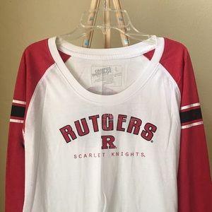 Campus Heritage Rutgers baseball t-shirt